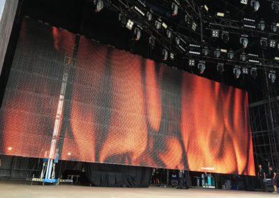 Wacken: LED-Wände Stage und Infield