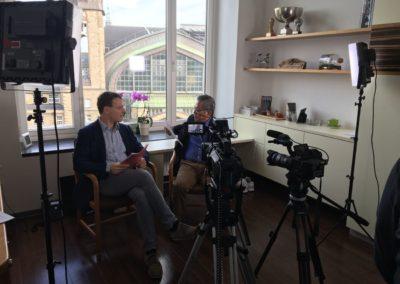 Videotechnik: Kameras für Interview und Liveübertragung